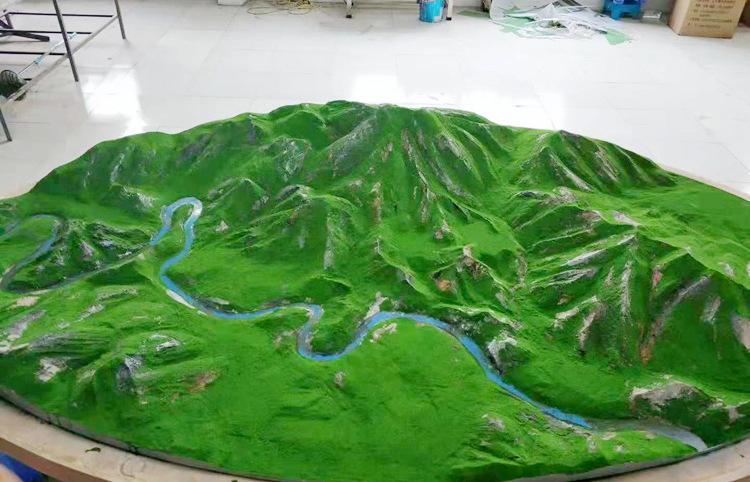 兰州山体模型设计