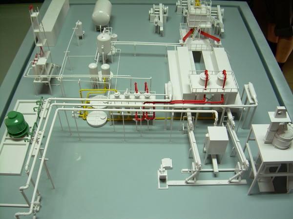 动态机械模型制作