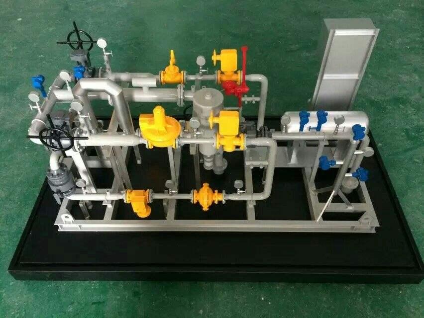 机械工业模型
