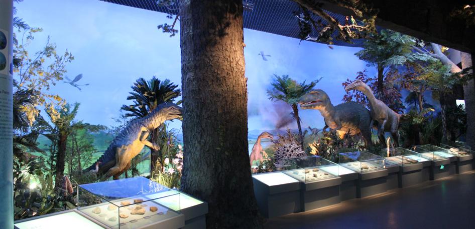 博物馆沙盘模型