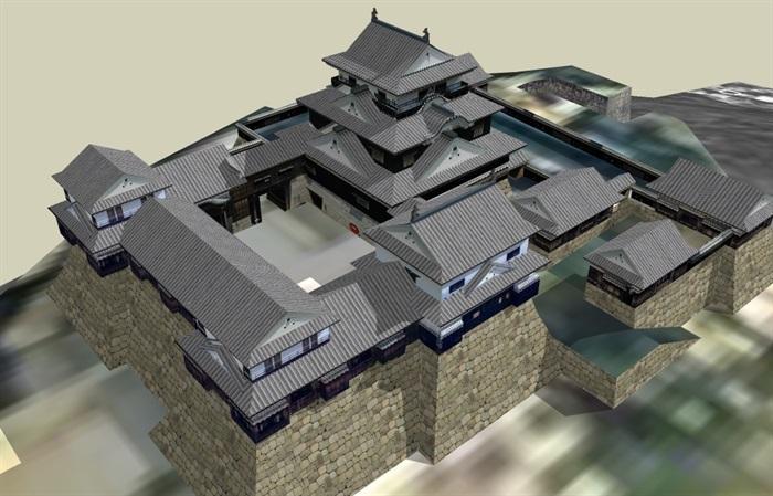 兰州古建筑模型