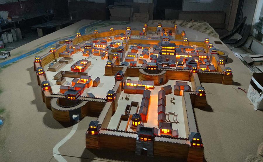 古建筑沙盘模型设计推荐兰州渧恩渧模型设计