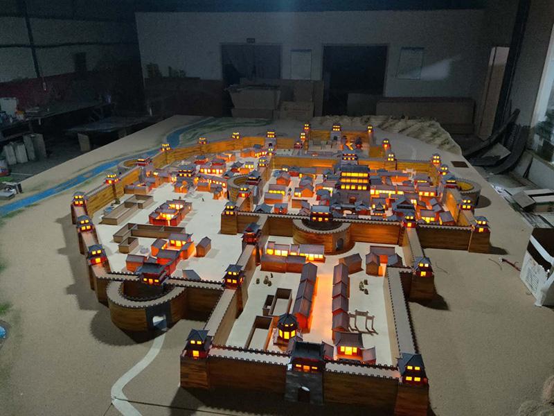古建筑模型的制作