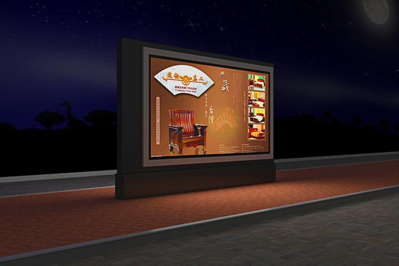 合肥广告灯箱