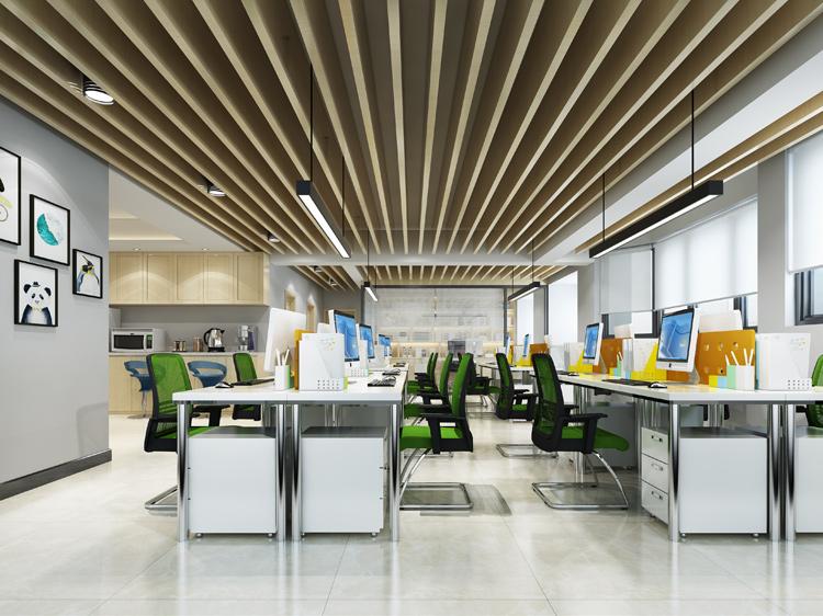 流行的办公室装修色彩搭配,一定要避开这几个雷区