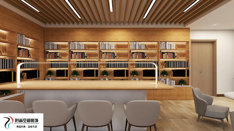 银川图书室装修