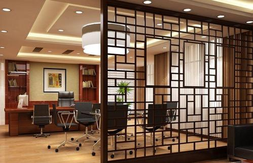 办公室家具如何布置?办公室屏风色彩应用