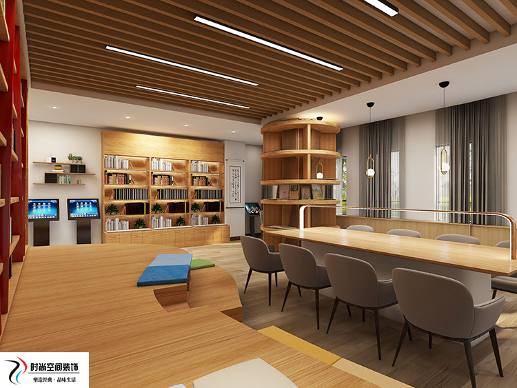 银川图书馆展厅装修
