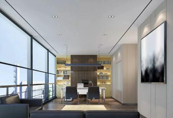 2021年80平米办公室装修技巧用起来也能让办公室显得没有那么小