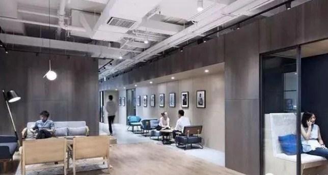 德宁国际中心共享高端办公2200平米办公装修