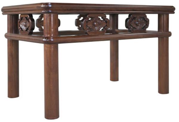 圆包圆卡子花阳台小茶桌 高500宽420厚580
