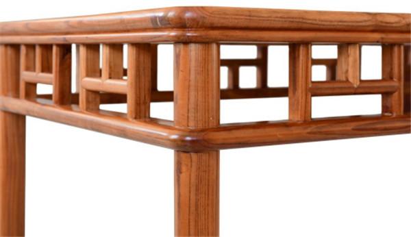 圆包圆仰山格条桌(餐桌) 高800宽1600厚880