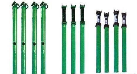 双伸缩悬浮式单体液压支柱