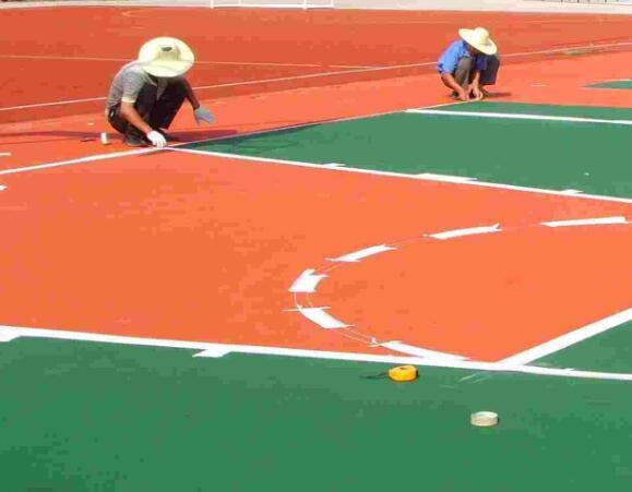球场地坪划线