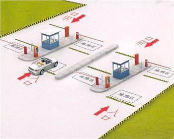 智能IC卡停车系统