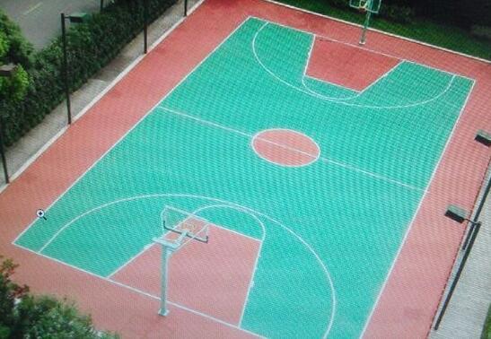 万联达汽车球场地坪划线