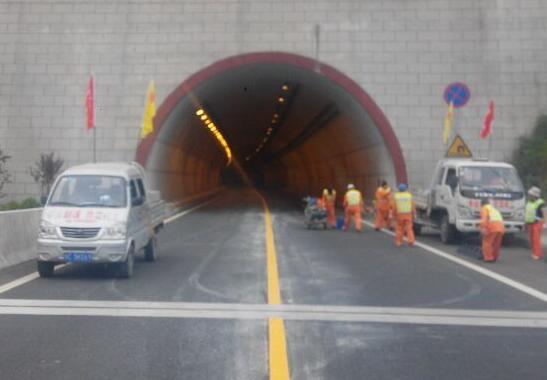 2015年十白高速施工