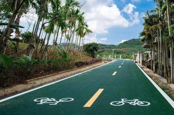 美丽的十堰自行车绿道施工,你知道这是哪里吗?