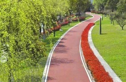 用于自行车绿道的路面地坪漆有什么优越的性能呢?