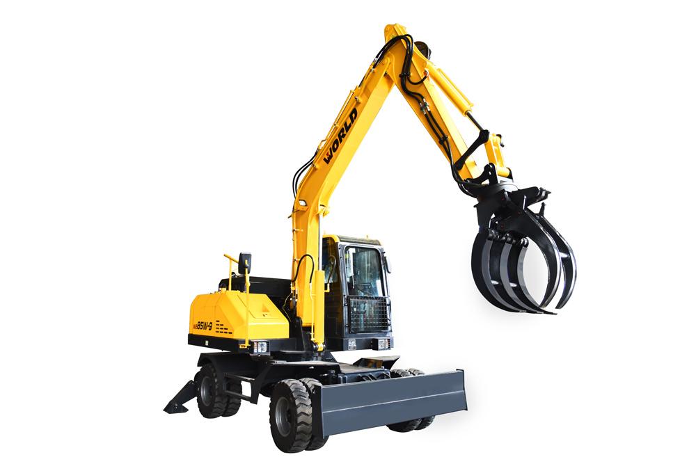 轮式挖掘机W285W-9A 加长臂