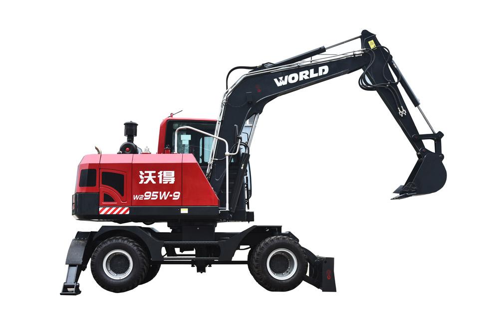 轮式挖掘机W295W-9 加长臂