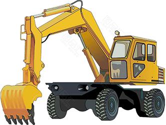 轮式挖掘机发生故障了不要慌,这里有超全的解决方法!