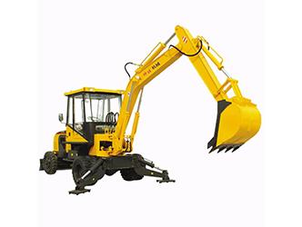 履带式挖掘机与轮式挖掘机的优缺点