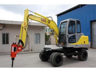 轮式挖掘机与履带式挖掘机到底有哪些不同呢?