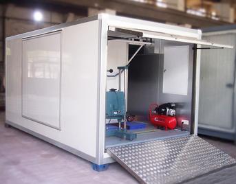 玻璃钢空气监测站房