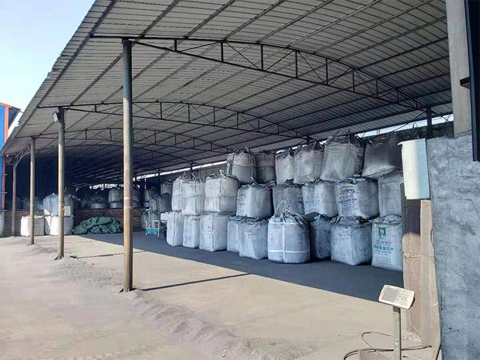 碳素制品喷吹碳粉仓库