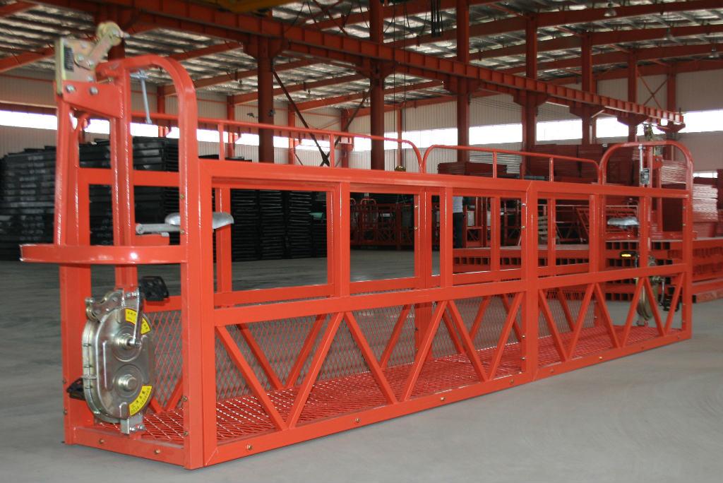 西安高空电动吊篮施工中的应急措施