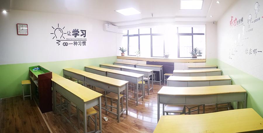 兰州博路学校教室环境
