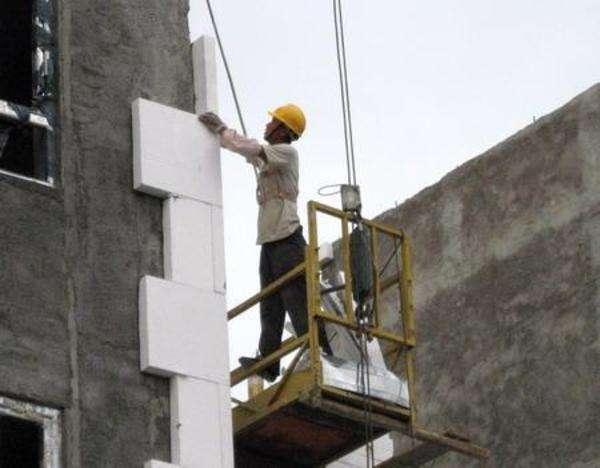 eps泡沫板外墙施工