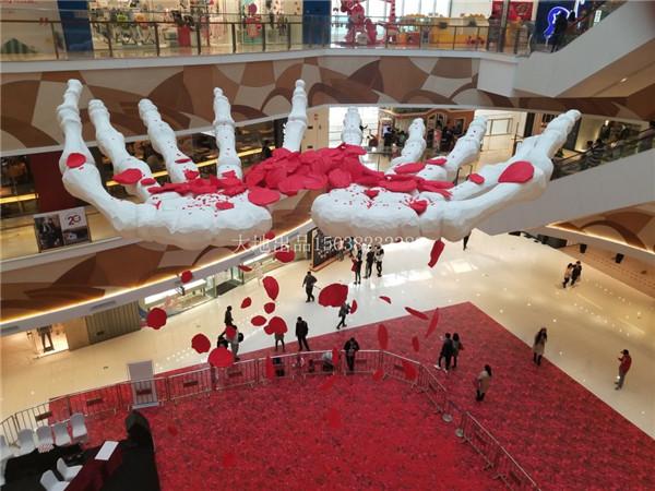 河南泡沫雕塑—大悦城万圣节