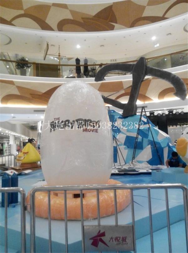 河南泡沫雕塑—烟台大悦城