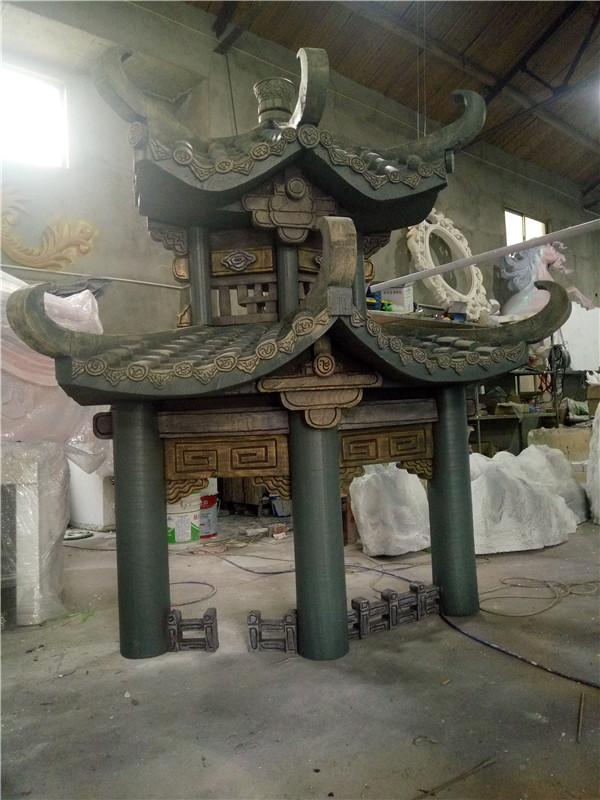 河南雕塑婚庆节日舞台道具设计