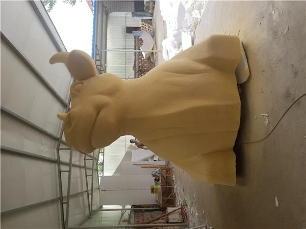 河南泡沫雕塑展示