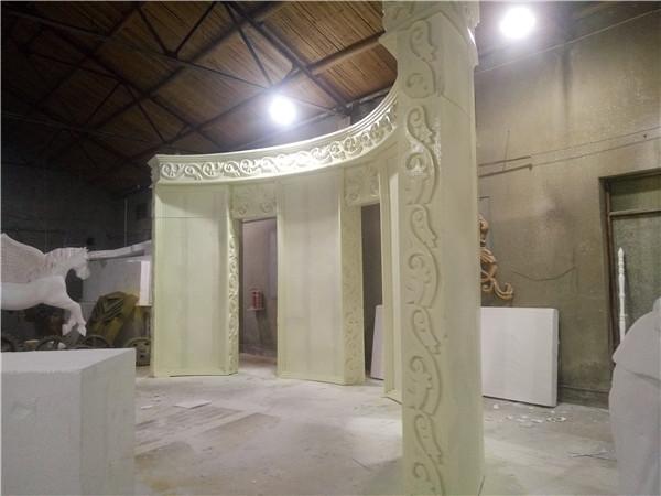河南雕塑婚庆节日舞台道具