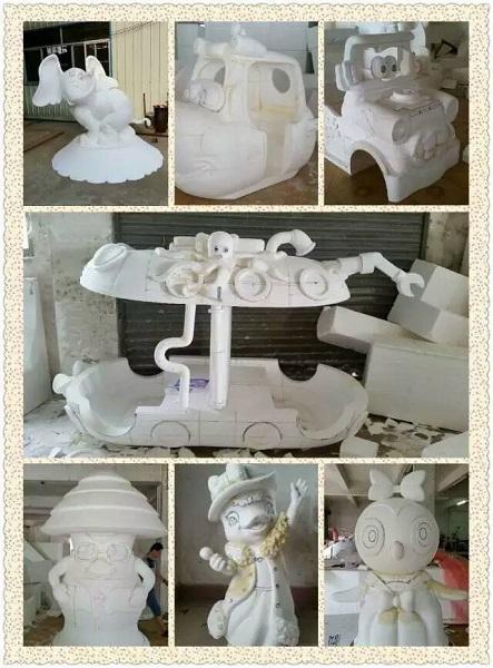 泡沫雕塑工艺品