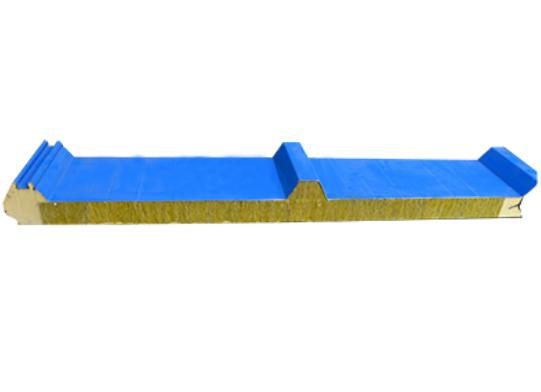 聚氨酯封边岩棉屋面板