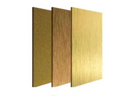 黄钛金不锈钢板材