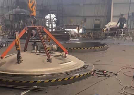 不锈钢真空镀钛厂区