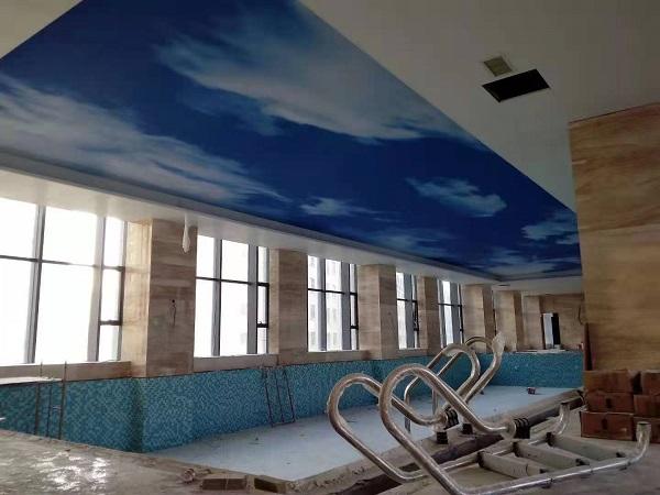 游泳馆洗浴中心软膜