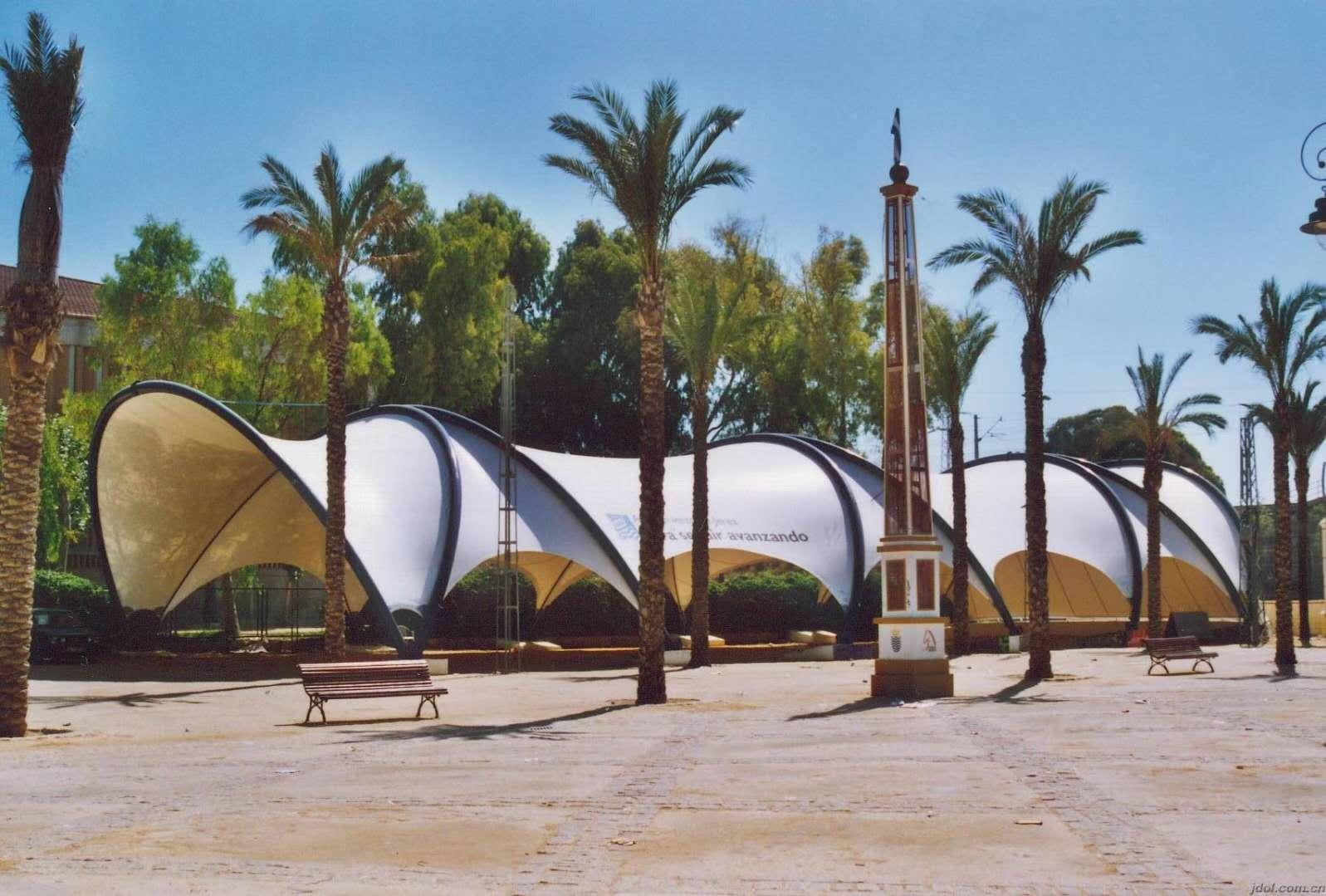 景观膜结构设计的找型和方法