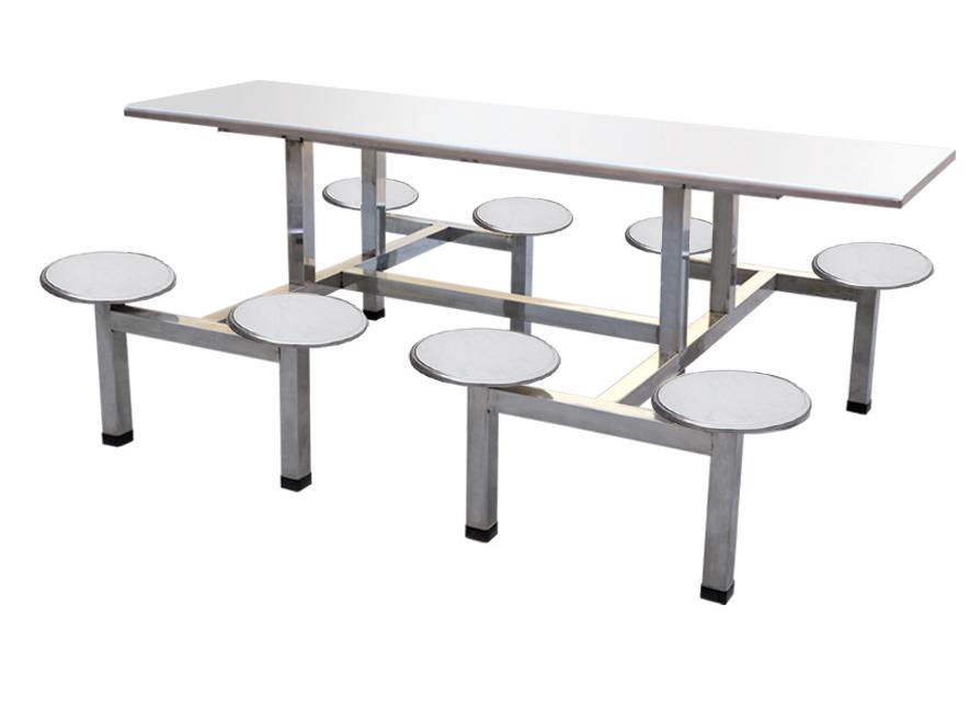 八人餐桌 连体