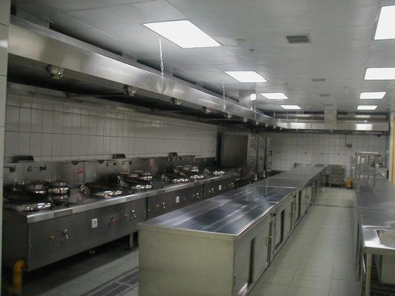 学校食堂厨房设备的布置及摆放