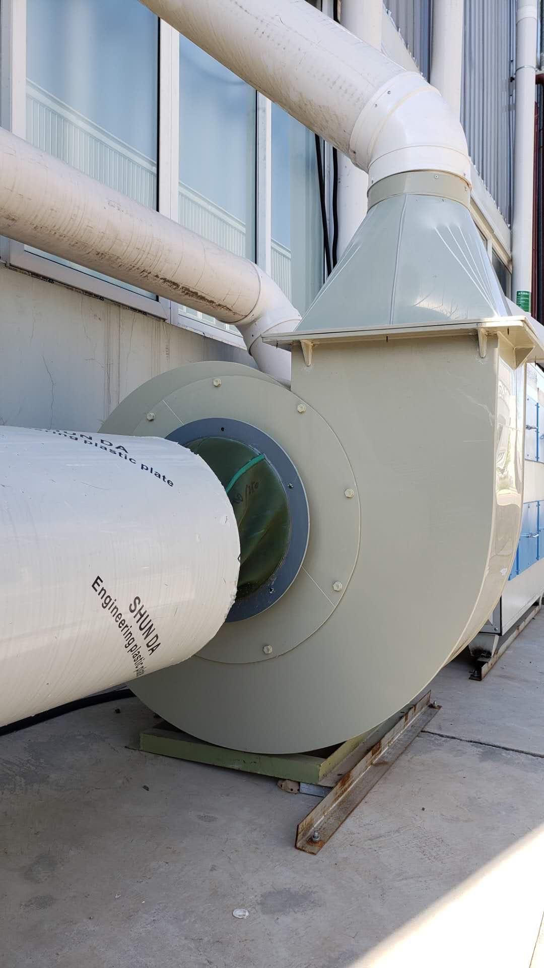 阳曲工业园区变频通风系统