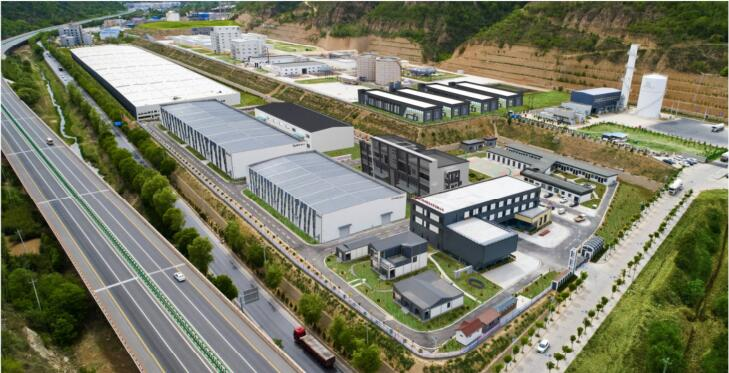 延安斯派尔生产厂区