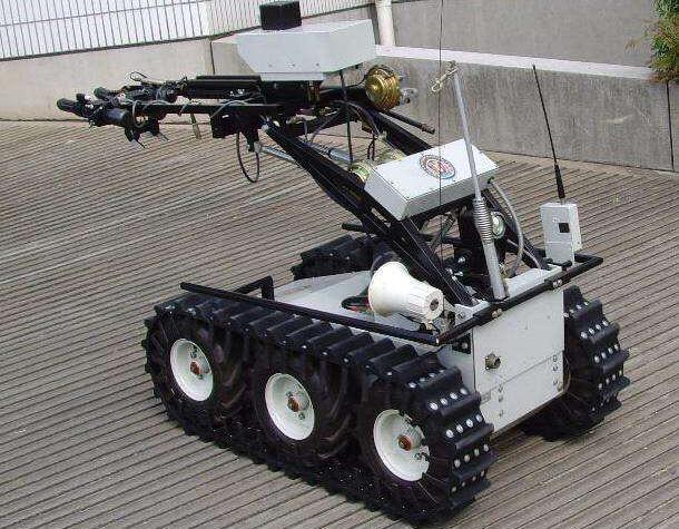 成都履带式机器人驱动总程线案例