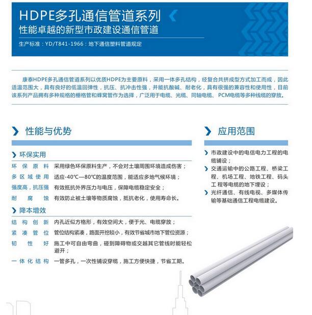 成都HDPE管銷售